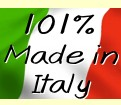 101% Made in Italy!